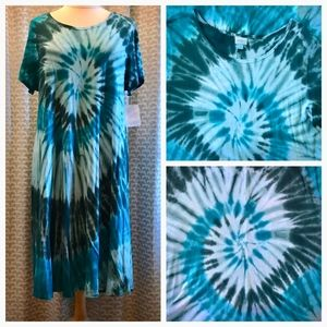Lularoe Tie Dye Carly Dress